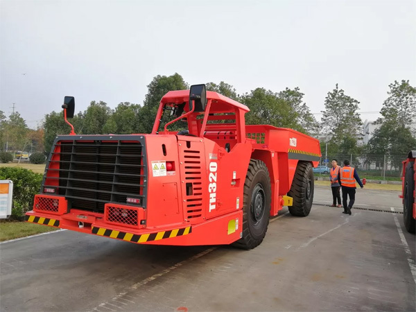 20吨载重量地下卡车