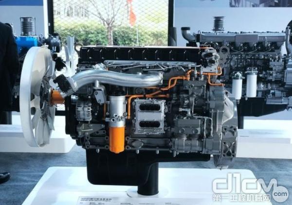 潍柴WP9H欧六发动机