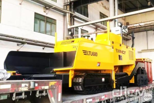 LTU600沥青混凝土摊铺机