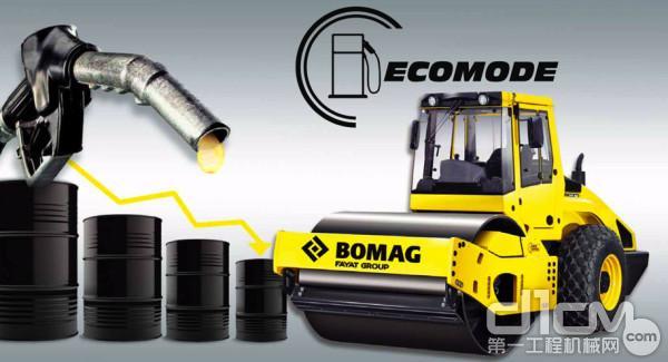 宝马格节能系统(ECOMODE)可降低30%的油耗