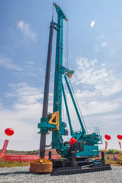 全球最大步履式旋挖钻机SWDM600W