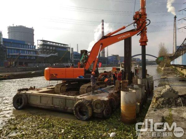 金泰SE30轻型旋挖钻机