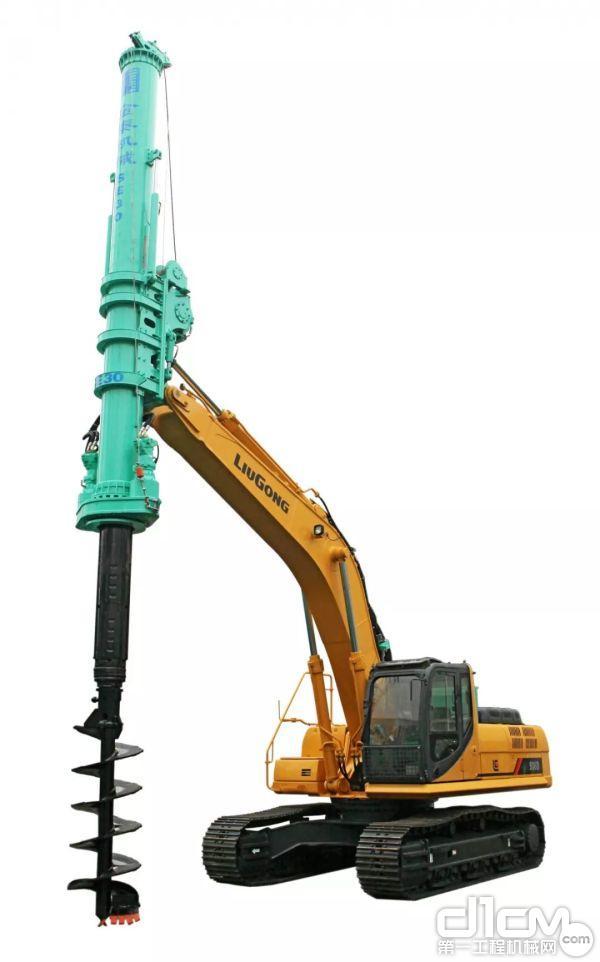 SE30旋挖钻机是上海金泰工程机械有限公司以挖掘机为研发平台,做到一机两用,挖掘机功能和旋挖机功能