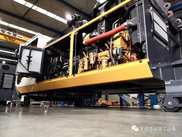BG 38钻机的关键部件大部分从德国原装进口,性能可靠