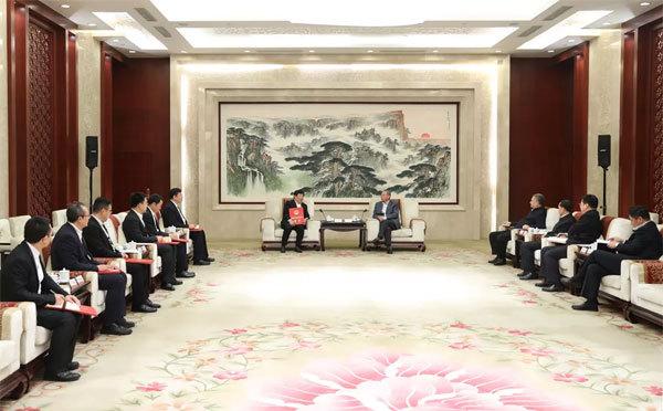 山东省领导会见潍柴团队