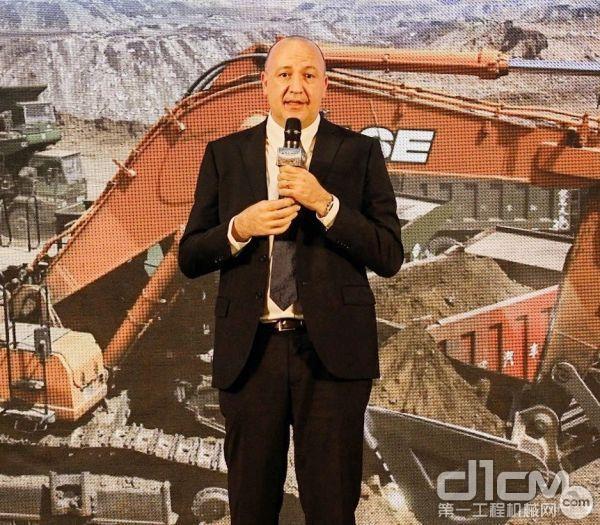 Luca Mainardi 凯斯纽荷兰工业集团中国区农业及工程机械总裁