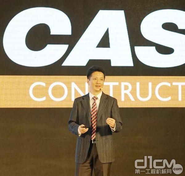 谭征 凯斯纽荷兰工业集团亚太区工程机械市场总监