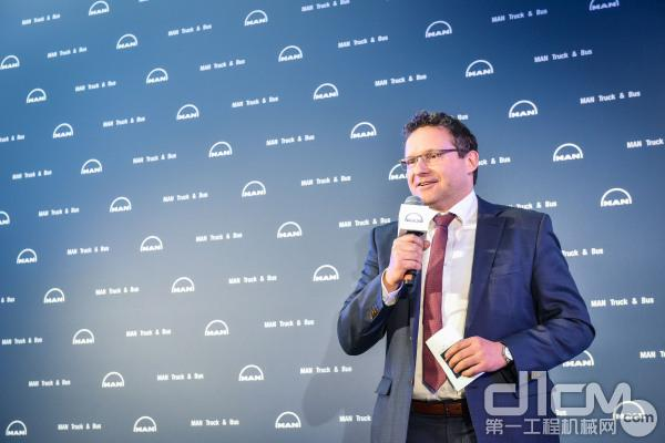 曼恩商用车中国总裁Thilo Halter先生致辞