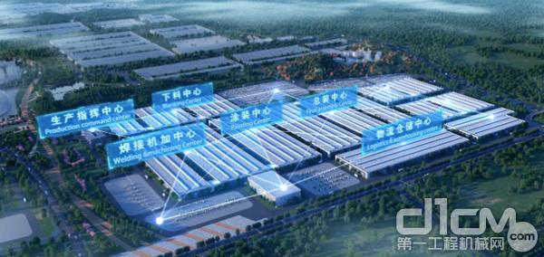 中联智慧产业城智能工厂效果图