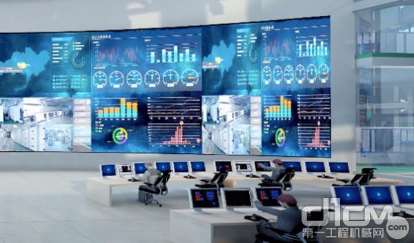 中联智慧产业城生产指挥中心效果图
