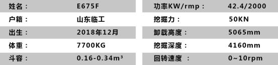 E675F基本信息