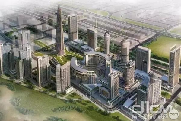 埃及新首都中央商务区项目效果图