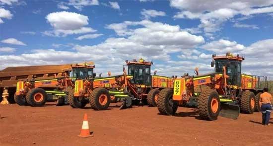 打败外资品牌 中国平地机第一次开进了澳洲矿区