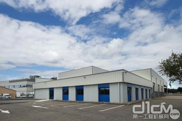 利勃海尔-宇航位于图卢兹的新物流配送中心