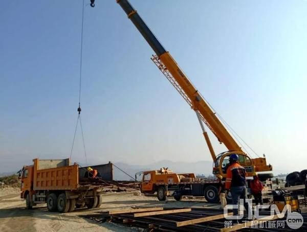 徐工设备正积极效力于中国援助尼泊尔的最大项目——博卡拉机场建设