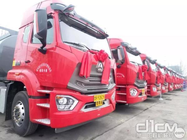 中国重汽正式拉开2019年节后营销工作的大幕
