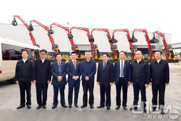 广东省委书记李希一行来到三一珠海产业园