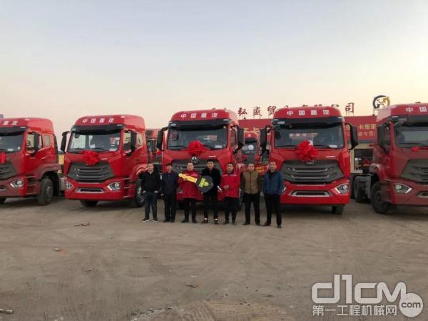 春节后首批10台豪瀚N7G交付大同某运输公司