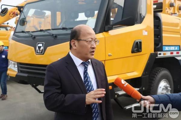 徐工机械副总裁、进出口公司总经理刘建森