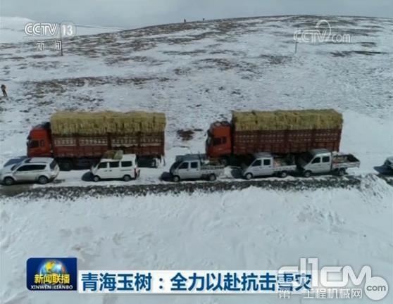 青海省玉树州全力以赴抗击雪灾