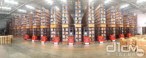 林德(中国)为利丰提供了高效、稳定、智能的产品及物流解决方案