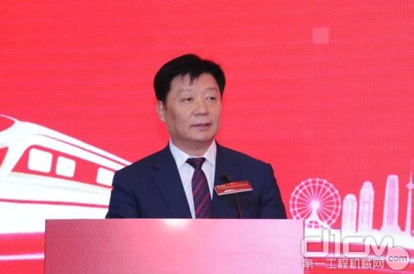 李树起代表天津市发表讲话