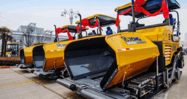 近日,RP953T批量发往西南,助力当地道路工程建设