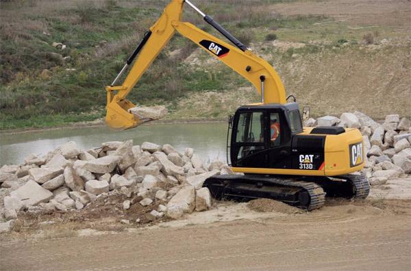 履带式挖掘机