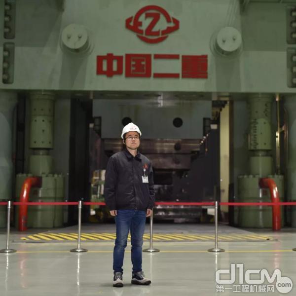 全国青年岗位能手、中国二重万航公司技术开发部副部长罗恒军