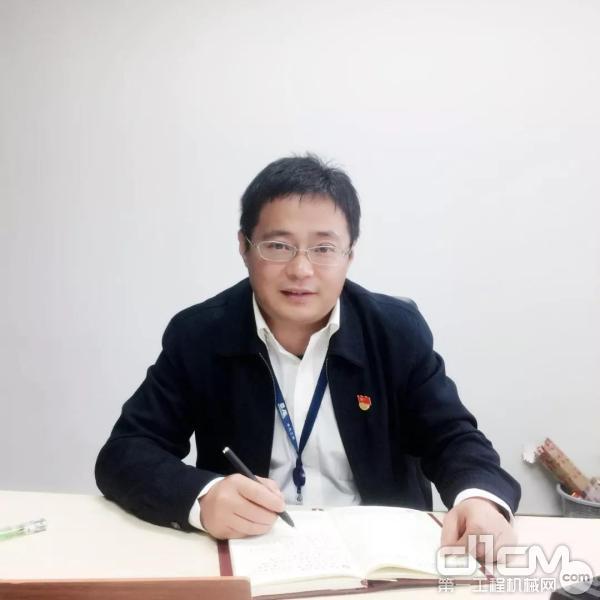 中汽工程装备与产业发展部副部长 马秋生