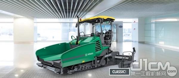 福格勒新型超级 1600 L 摊铺机