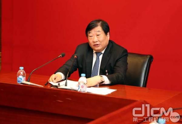 全国人大代表潍柴集团董事长谭旭光