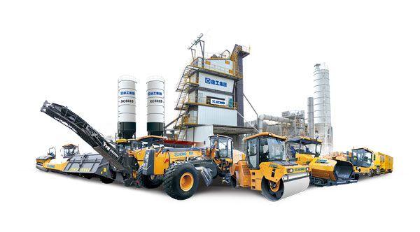 徐工筑路养护机械最新产品群