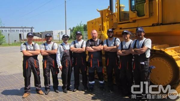 柳工海外团队
