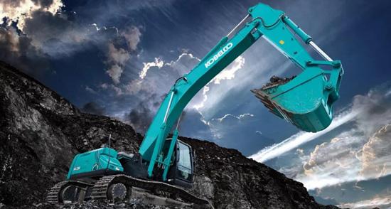 神钢30吨大挖机备受瞩目 建设路上伴你同行