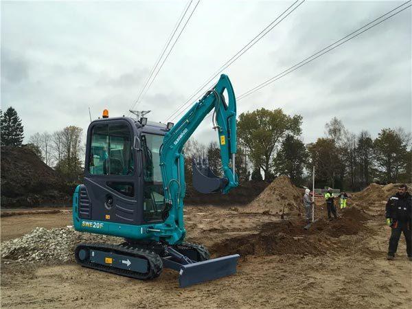 SWE08B/20F/25F系列微型挖掘机