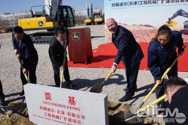 约翰迪尔天津工厂扩建