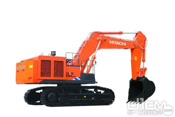 日立建机ZX690LCH-5A履带式液压挖掘机