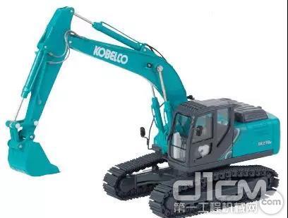 神钢SK210挖机模型