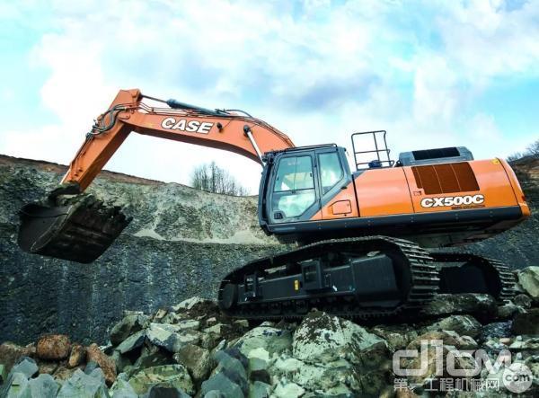 凯斯CX500C-MASS挖掘机