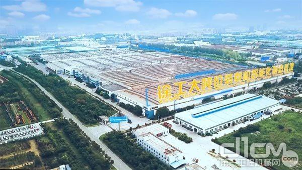 徐工大吨位装载机智能化制造基地