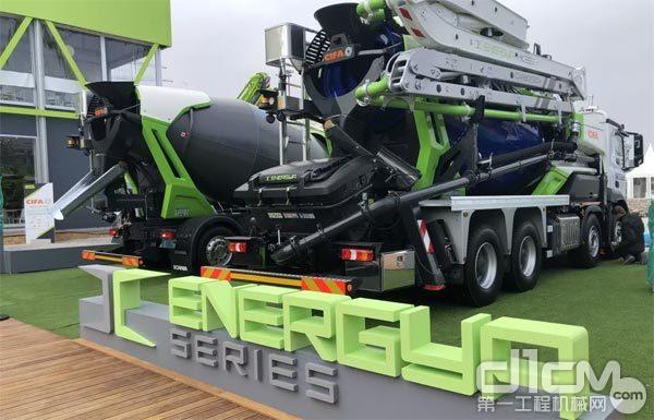 △ 中联重科CIFA 新能源技术ENERGYA系列产品