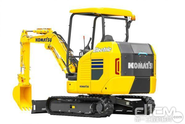 小松欧洲公司全球发布1款电动小挖
