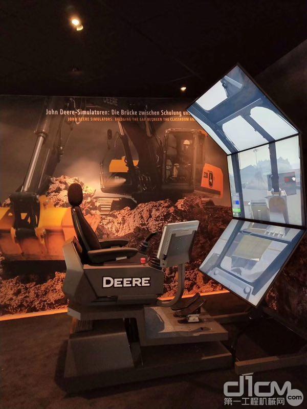 约翰迪尔挖掘机模拟机