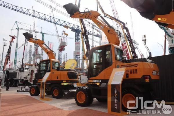全新升级轮式挖掘机:JGM910LN、JGM9075LN
