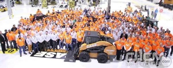 凯斯在德国宝马展隆重庆祝其滑移装载机诞生五十周年
