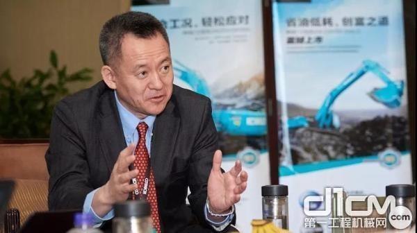 神钢建机(中国)有限公司 市场统筹本部本部长 西冈基司