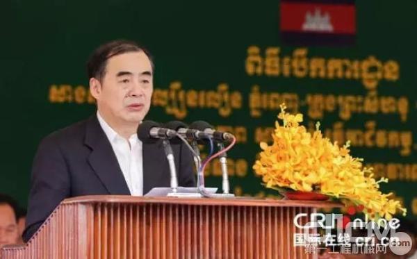 中国外交部副部长孔铉佑希望中国企业更好地服务于当地建设