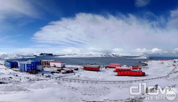 南极长城站全景(第30次科考队员、厦工机械师王荣辉拍摄)
