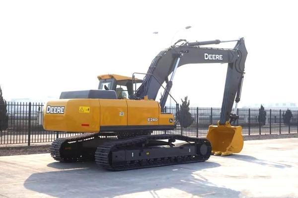 约翰迪尔:高效低耗 快召唤你身边的E240LC挖掘机